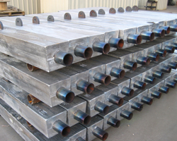 Platform Straight Core Anode Type A with Dorsal Fin for Installation