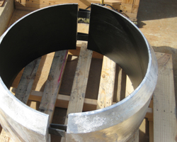 Complete Tapered Weld On 32″ Bracelet Aluminum Anodes Houston Anodes